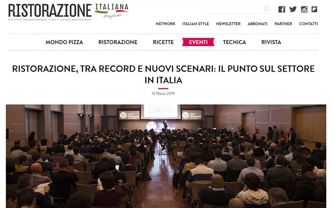 RISTORATORETOP su Ristorazioneitalianamagazine.it | Ristorazione, tra record e nuovi scenari: il punto sul settore in Italia