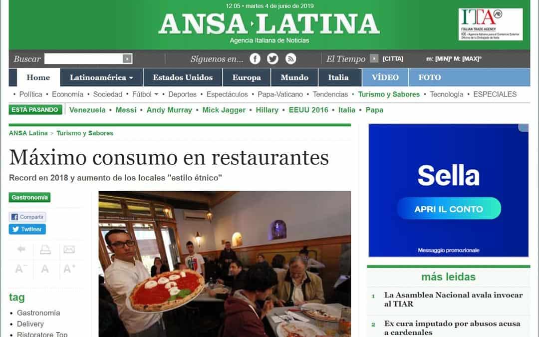 RISTORATORETOP su Ansalatina.com | Máximo consumo en restaurantes