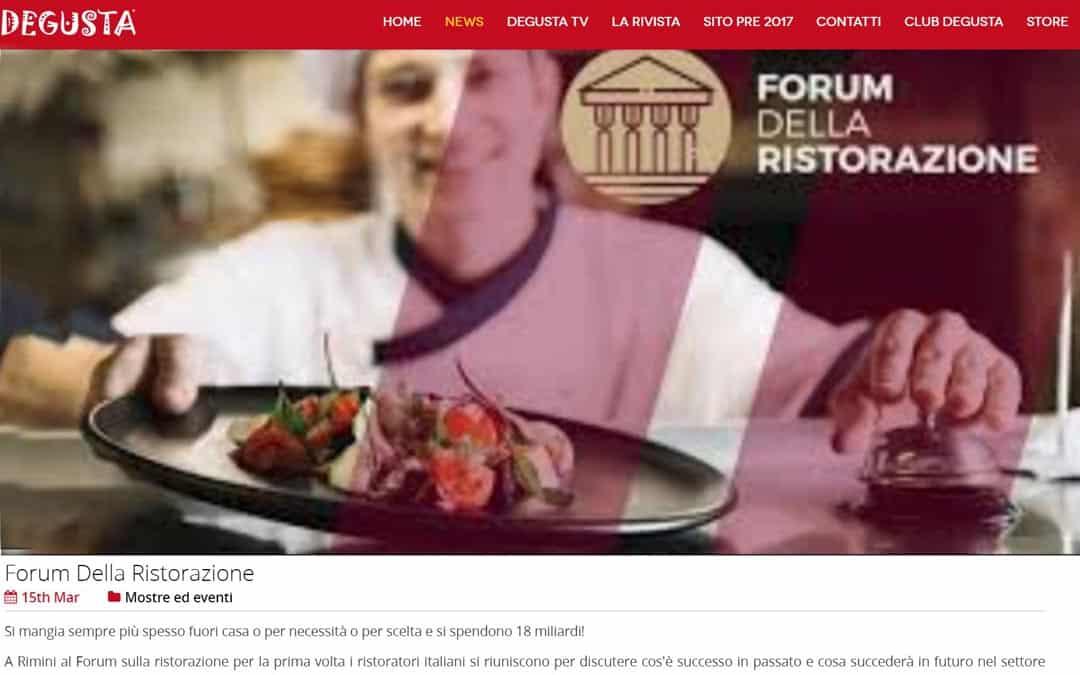 RISTORATORETOP su Degusta.it | Forum Della Ristorazione