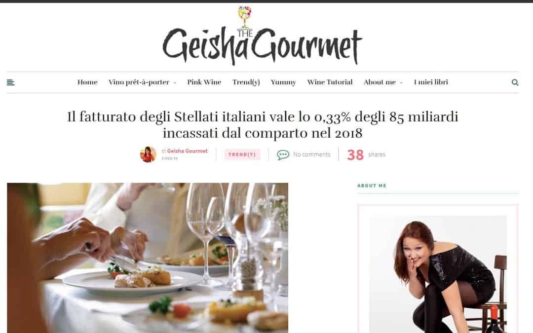 RISTORATORETOP su Geishagourmet.com | Il fatturato degli Stellati italiani vale lo 0,33% degli 85 miliardi incassati dal comparto nel 2018