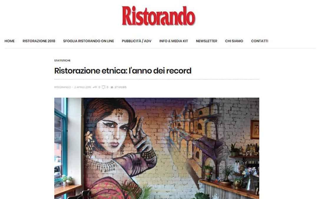 RISTORATORETOP su Ristorando.eu | Ristorazione etnica: l'anno dei record