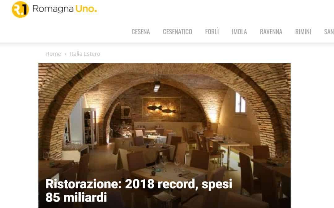 RISTORATORETOP su Romagnauno.it | Ristorazione: 2018 record, spesi 85 miliardi