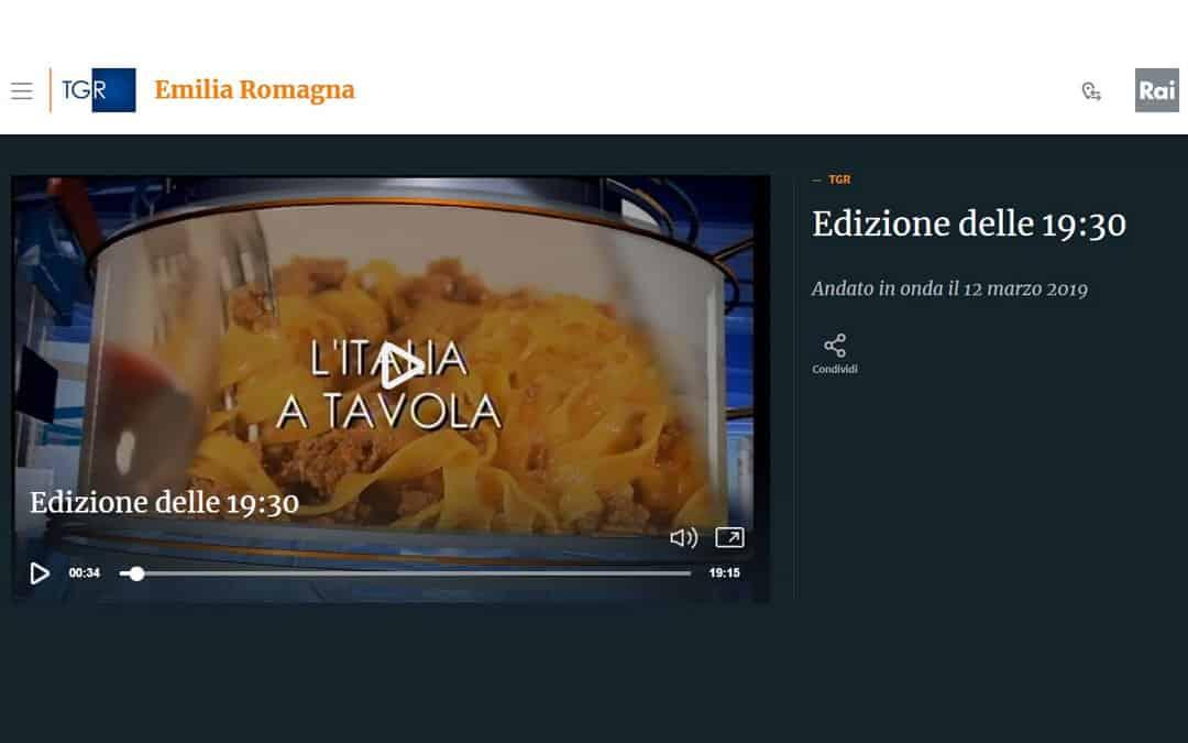 RISTORATORETOP su RAI TGR Emilia | 2018 Anno record per la ristorazione