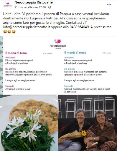 ristoratoretop coronavirus iniziative social ferrari marketing